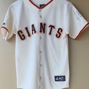 San Fran Giants major league genuine Jersey